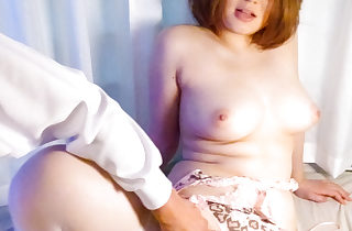 Alice Ozawa's shaved pussy packed with..